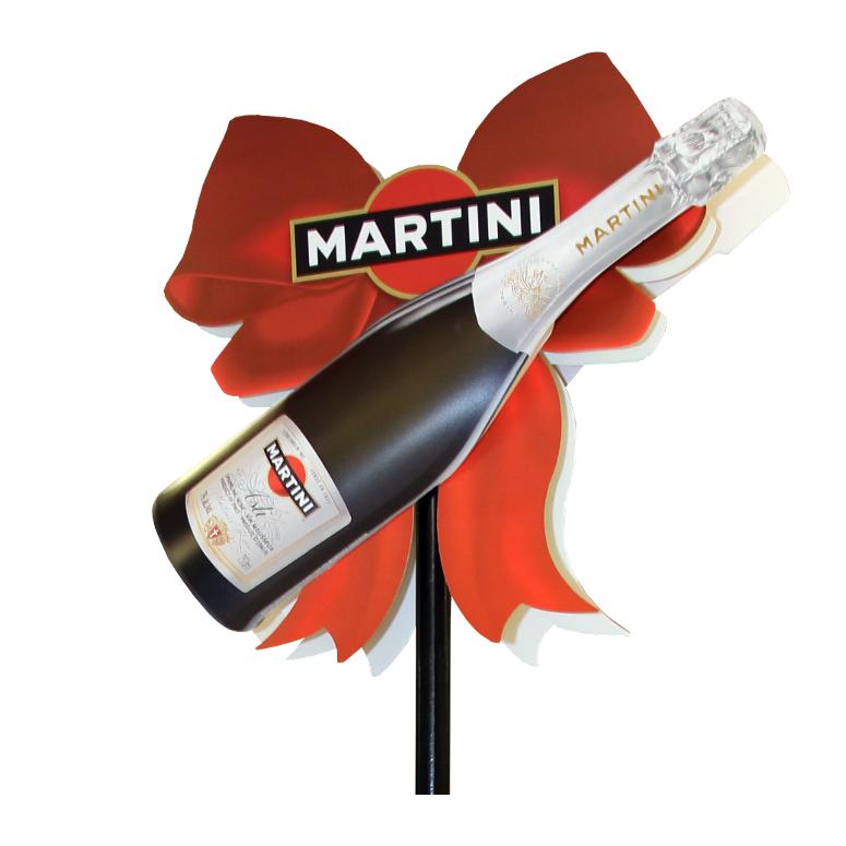 Martini pole topper