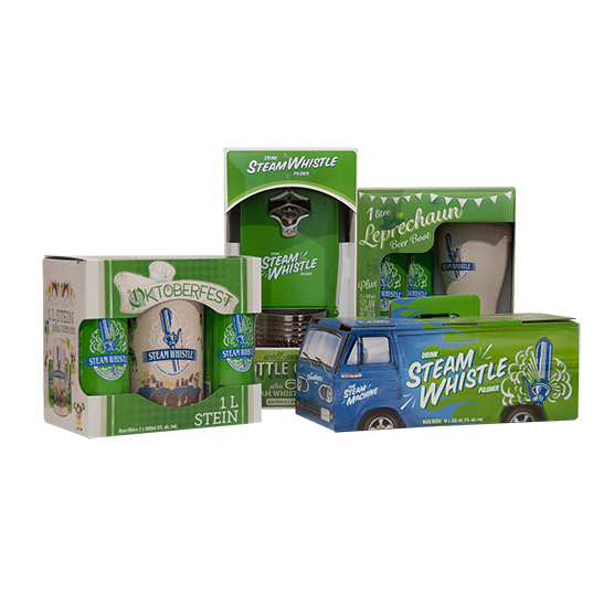 Steam Whistle Party Pack
