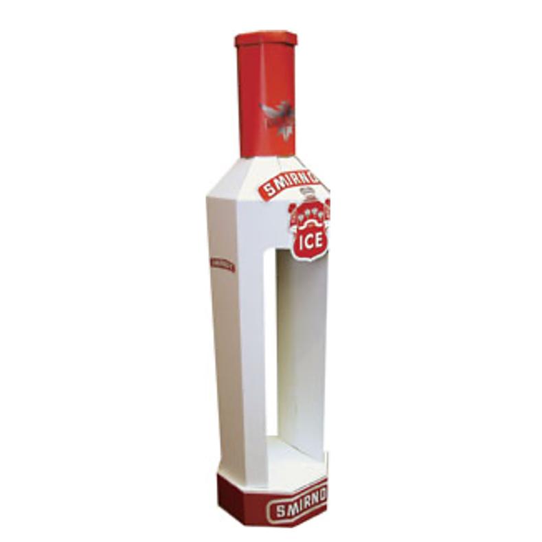 smirnoff bottle displlay